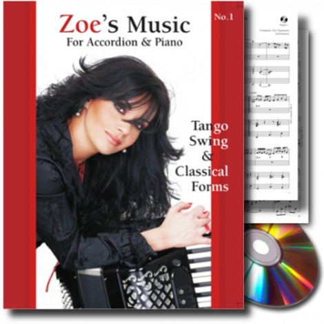 Zoe's Music No.1 for accordion and piano