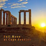 Full Moon at Cape Sounion