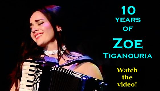 10 Years of Zoe Tiganouria (Composer & accordion virtuoso)