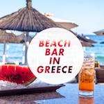 Beach Bar in Greece