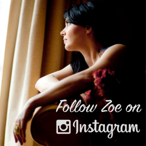 Follow Zoe on Instagram