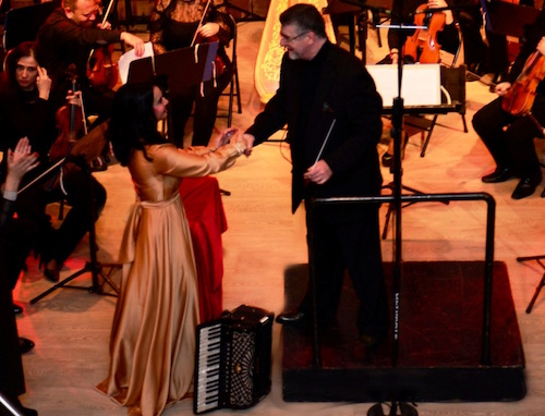 Zoe & the Symphony Orchestra of Athens Municipality directed by Eleftherios Kalkanis